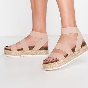 NWB Steve Madden Blush Kimmie Sandals
